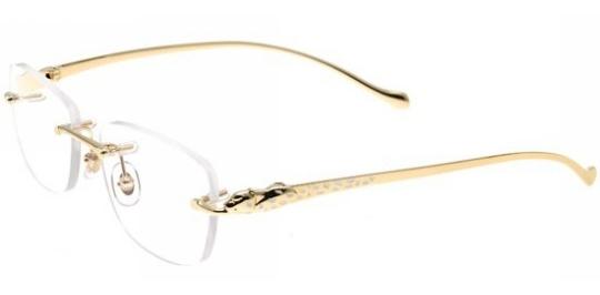a0cfe47d2d3 Cartier modele PANTHERE-DE-CARTIER-T8101031  Collection lunettes classique.