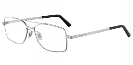 674d93f2bdb39f Cartier modele SANTOS-DE-CARTIER-ONE-SHOT-RECTANGLE-T8101044  Collection  lunettes classique.