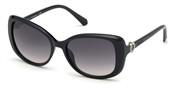 Acheter ou agrandir l'image du modèle Swarovski Eyewear SK0219-01B.